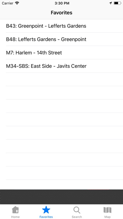 NYC Bus Tracker & Map screenshot-4