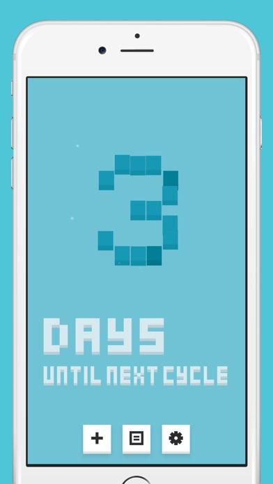 Cube 生理日予測のスクリーンショット1
