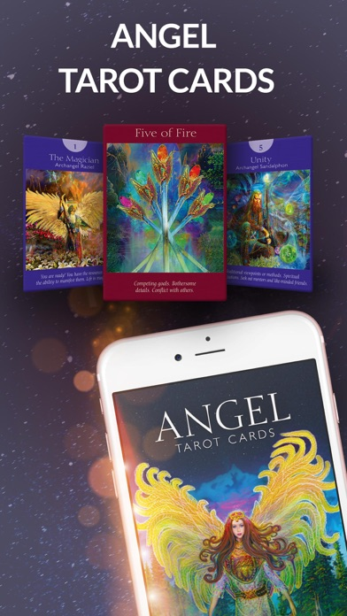 Angel Tarot Cards screenshot 1