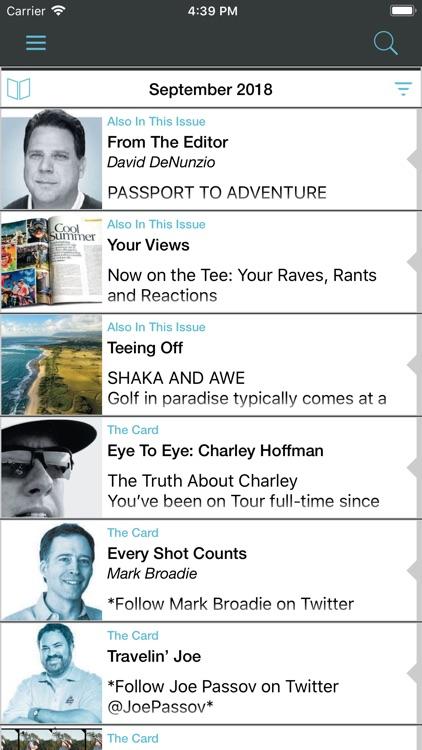 Golf Magazine screenshot-5