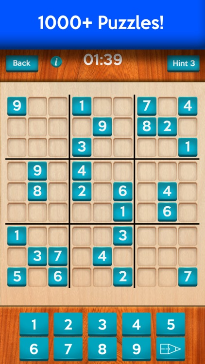 Sudoku · Easy to Hard Puzzles screenshot-4
