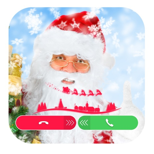Fake Call From Santa Claus Icon