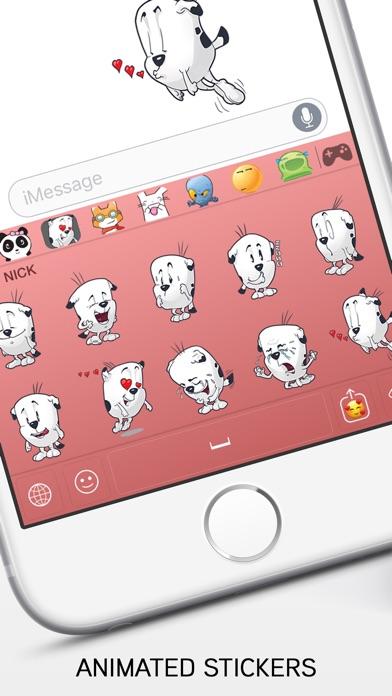 Emoji review screenshots