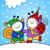 Téli mese - Bogyó és Babóca