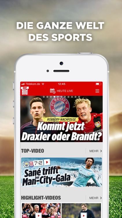 Sport BILD - Fussball & Sport screenshot-0