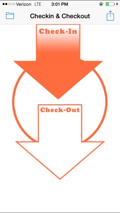 Checkin Checkout
