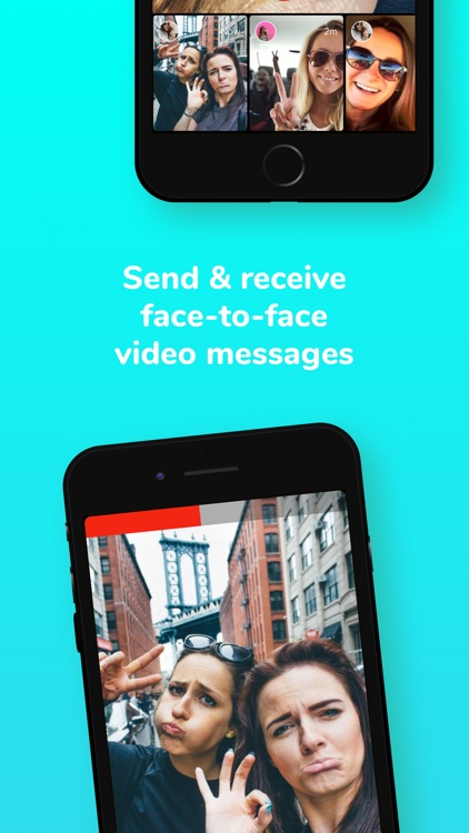 Glimpse - Video Walkie Talkie screenshot-3