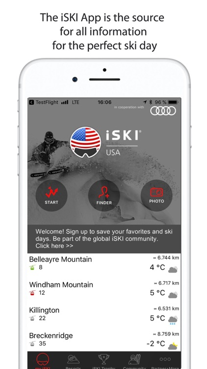 iSKI USA - Ski/Snow Guide