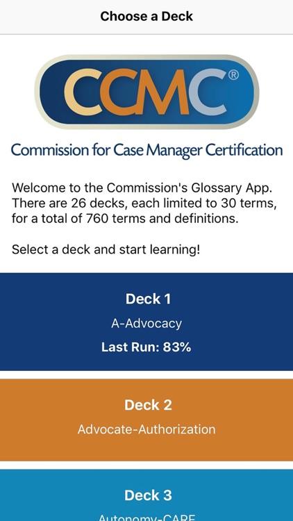 CCM Glossary App