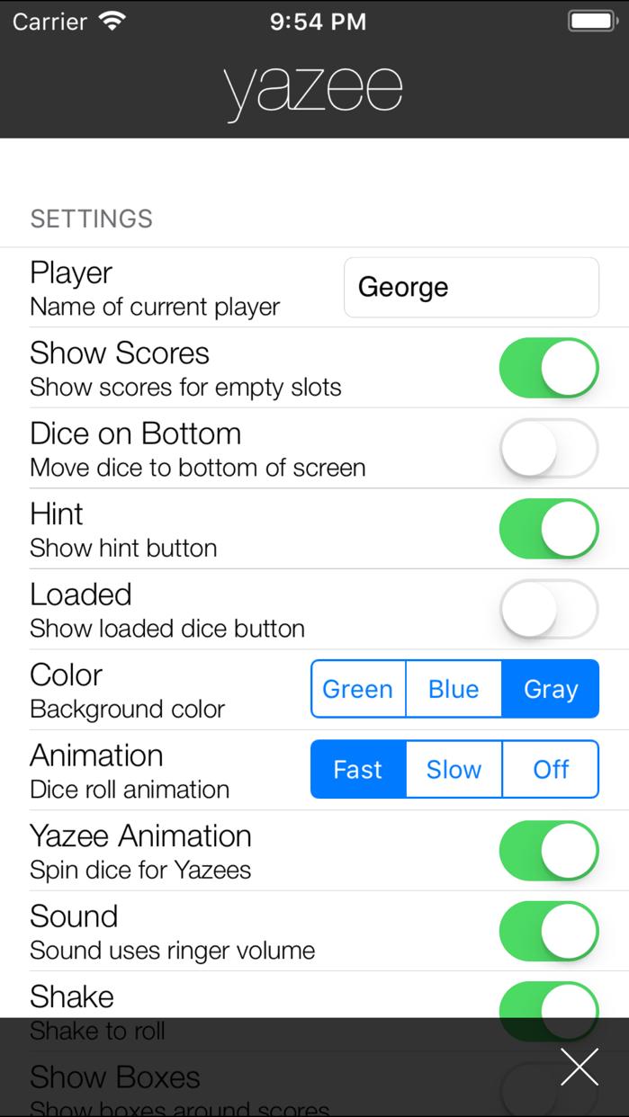 yazee Screenshot