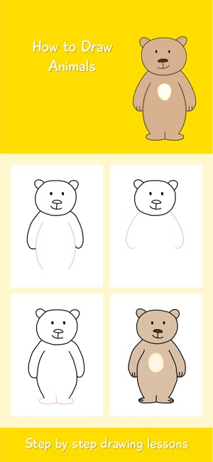 Pictures of animals to draw app