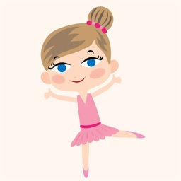 Animated Ballet GIRL Stickers