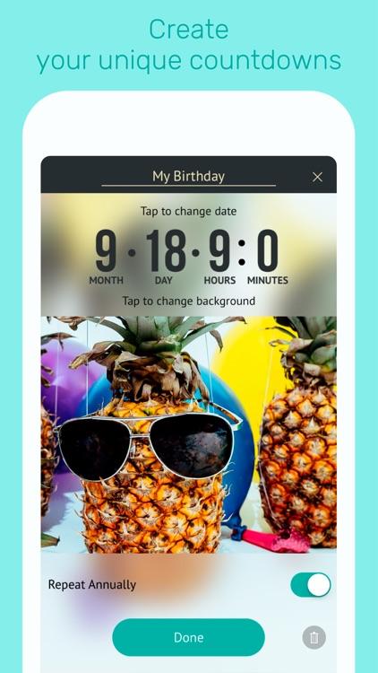 My Day - Countdown Calendar screenshot-3