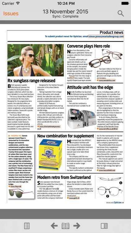 Optician Magazine