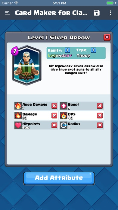 Card Maker for Clash Royale screenshot 3
