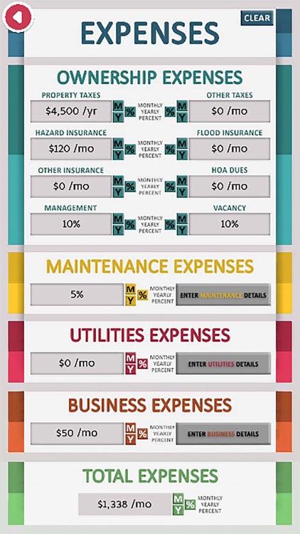 Real Estate Cash Flow Analysis screenshot-3