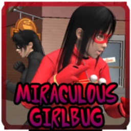 Miraculous Girlbug & Cat Black