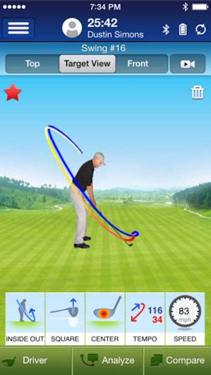 SwingTIP Golf Swing Analyzer