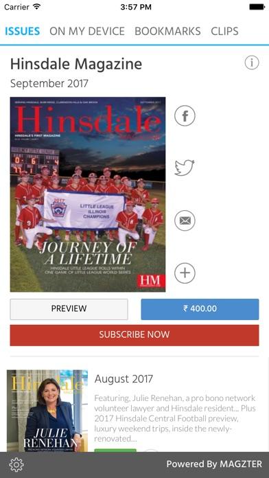 Hinsdale Magazine screenshot 1