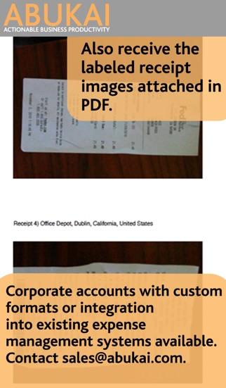 ABUKAI Rechnungen, KostenScreenshot von 5