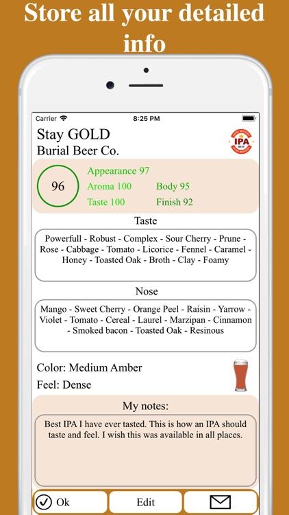 Beerista, the beer tasting app screenshot-4