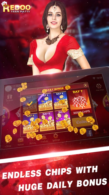 Redoo Teen Patti-Indian Poker screenshot-3