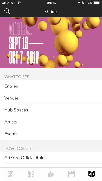 Artprize review screenshots