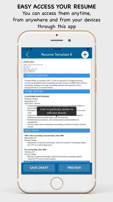 My Resume Builder Cv Maker App Price Drops