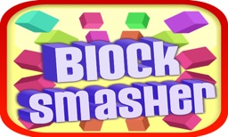 Block Smasher : 3D Fire Crush Bricks Breaker Game