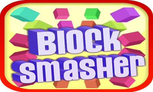 Block Smasher : 3D Fire Crush Bricks Breaker Game icon
