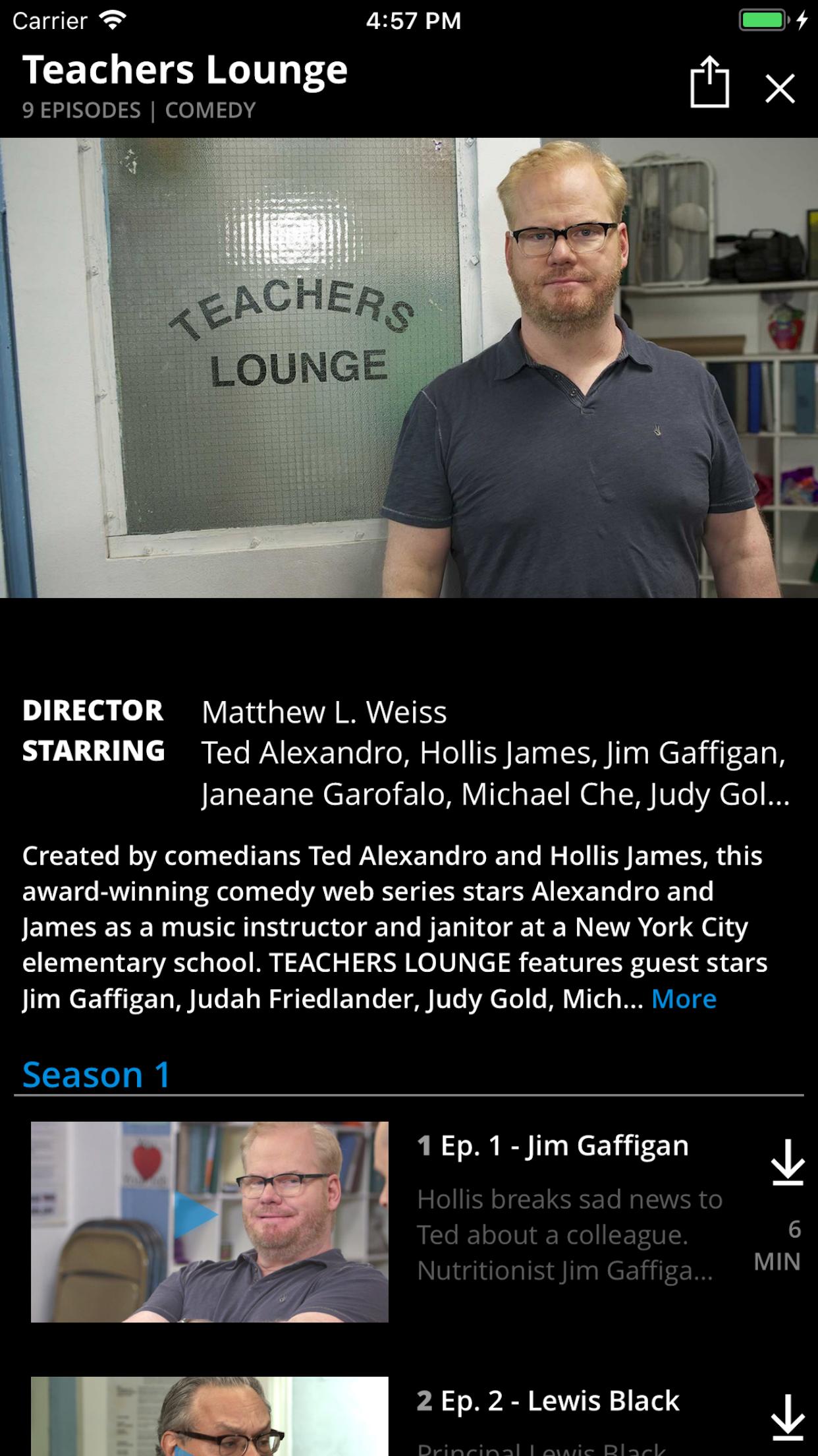 Snagfilms Screenshot