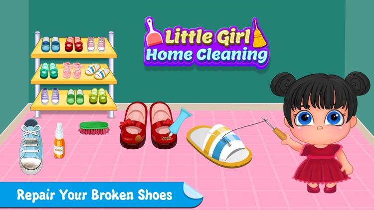 Little Girl Cleanup Adventure screenshot-3