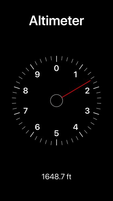 Altura: Altimètre et baromètre