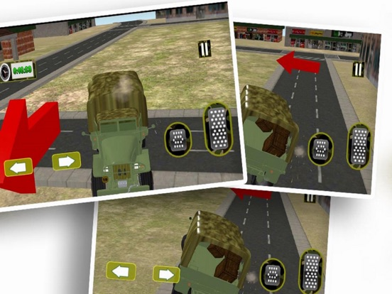 Driving Army Car Offroad screenshot 3