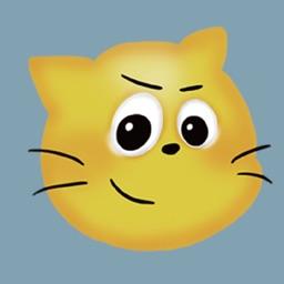 Funny Cat Emoji Stickers!
