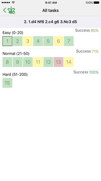 Chess Tactics. Grunfeld Def. screenshot-3