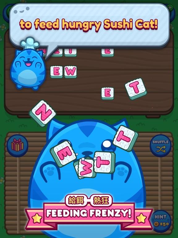 Sushi Cat Words screenshot 6