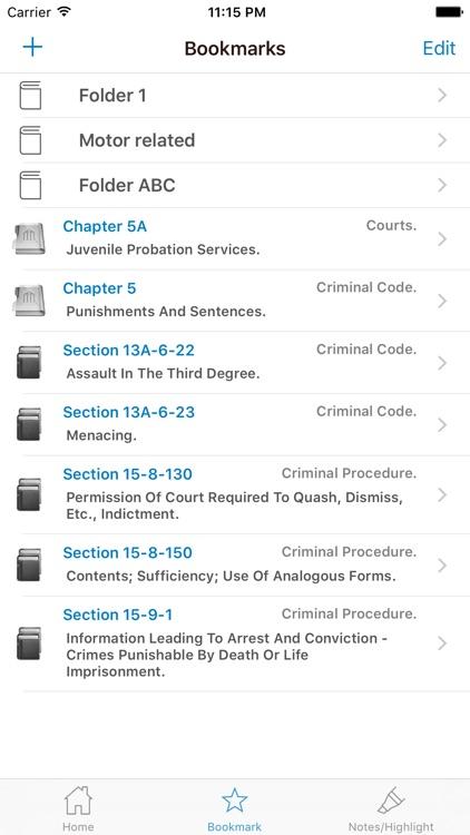 NJ Code Of Criminal Justice screenshot-5