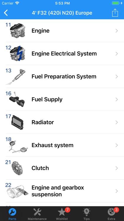 BMW Parts screenshot-3