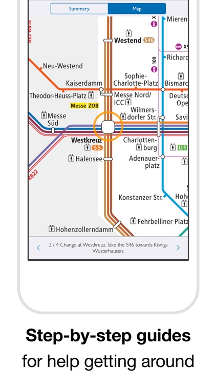 Berlin Subway: BVG U-Bahn map