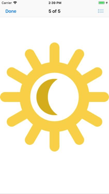 Sunny Sun Stickers screenshot-5