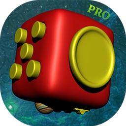 Fidget Cube Spinner 3D - Pro