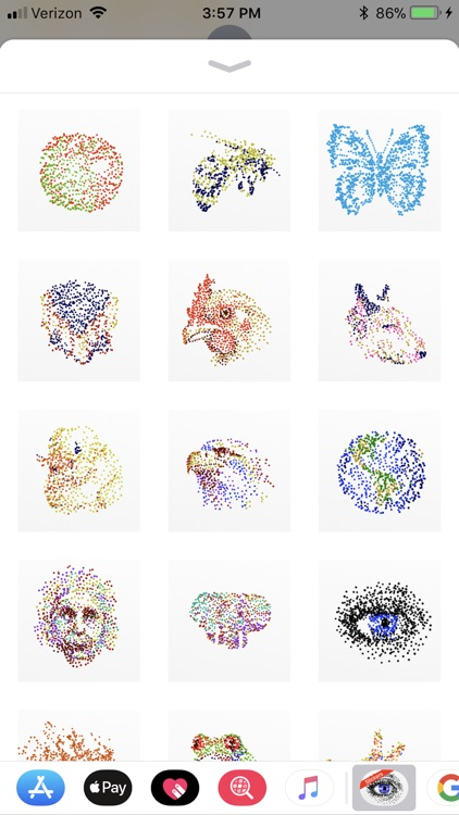 Anamorph Sticker Pack screenshot-3