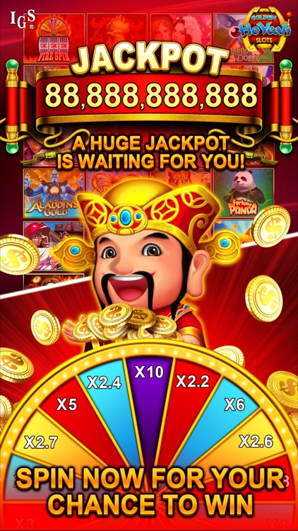 Golden HoYeah Slots Casino screenshot-3