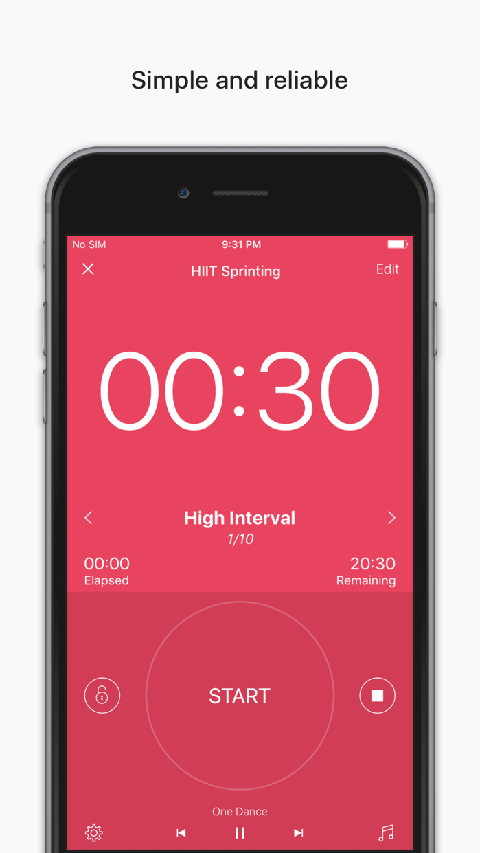 Interval Timer - HIIT Workouts Screenshot