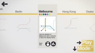 Screenshot for Mini Metro in Hong Kong App Store