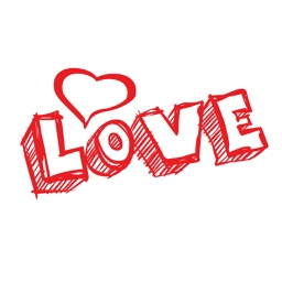 Valentine's Day Quote Stickers