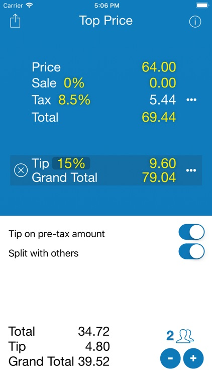 Top Price Sales Tax Calculator screenshot-3