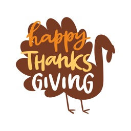 Happy Thanksgiving Sticker SMS