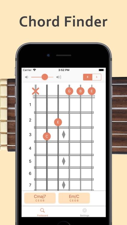 ChordAid: Chord Finder screenshot-0